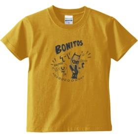 BONITOS TV モノクロ キッズTシャツ(カラー : バナナ, サイズ : 110)