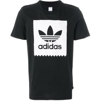 Adidas ロゴTシャツ - ブラック