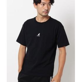 ザ ショップ ティーケー KANGOL別注バックプリントTシャツ メンズ ブラック(019) 02(M) 【THE SHOP TK】