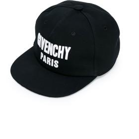 Givenchy Kids ロゴ キャップ - ブラック