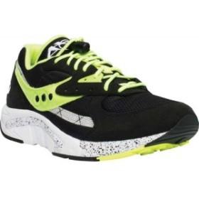 サッカニー Saucony Originals メンズ シューズ・靴 ランニング・ウォーキング Aya Running Sneaker Black/Neon/Suede