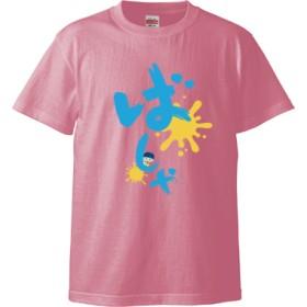 ばしゃTブルー(Tシャツ)(カラー : ピンク, サイズ : M)