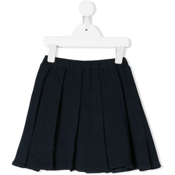 Il Gufo short pleated skirt - ブルー