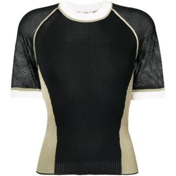 Fendi ショートスリーブ セーター - ブラック