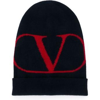 Valentino Vロゴ ビーニー - ブルー