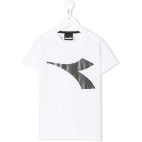 Diadora Junior ロゴ Tシャツ - ホワイト