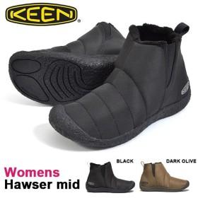 ミッド ブーツ KEEN キーン レディース HOWSER MID ハウザーミッド スリップオン サイドゴア スニーカー シューズ 靴 1019651 1021922 2019秋冬新色