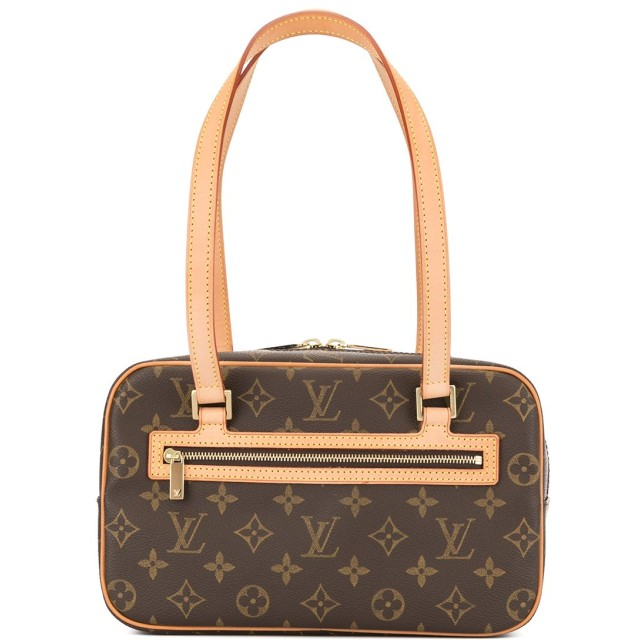 Louis Vuitton Pre-Owned シテ MM ショルダーバッグ - ブラウン