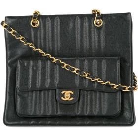 Chanel Pre-Owned Mademoiselle CC ショルダーバッグ - ブラック