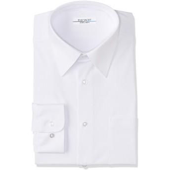 [富士ヨット学生服] 男子 長袖 完全ノーアイロン お手入れ楽 ラクシャツ 速乾 TSEASY01 白 160A