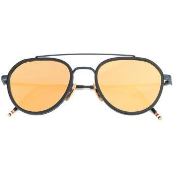 Thom Browne Eyewear アビエーターサングラス - ブルー