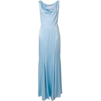 Moschino カウルネック ドレス - ブルー