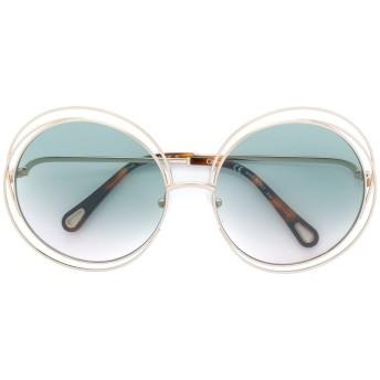 Chloé Eyewear Carlina サングラス - メタリック