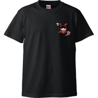 死神ちゃん(Tシャツ)(カラー : ブラック, サイズ : M)