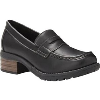 イーストランド Eastland レディース ローファー・オックスフォード シューズ・靴 Holly Moc Toe Penny Loafer Black Synthetic