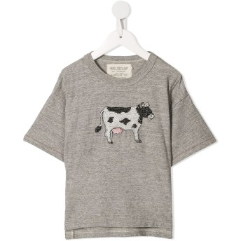 Go To Hollywood コントラストステッチ Tシャツ - グレー
