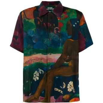 Rassvet Gauguin プリント シャツ - パープル