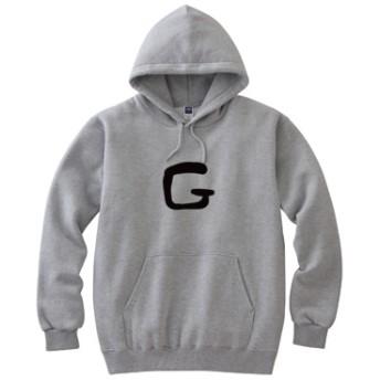 G(8.4オンス フーデッドライトパーカー)(カラー : 杢グレー, サイズ : S)