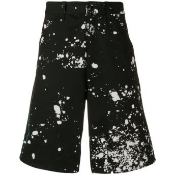 OAMC Splatter バミューダ パンツ - ブラック