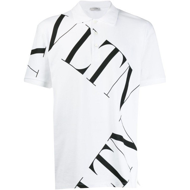 Valentino VLTN ポロシャツ - ホワイト