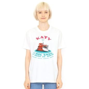[マルイ] 【ユニセックス】コラボTシャツ/はたらきもののじょせつしゃけいてぃー(ヴァージニアリーバートン)/グラニフ(graniph)