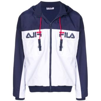 Fila logo zip-up jacket - ホワイト