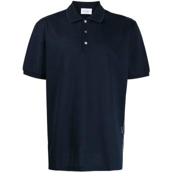 Salvatore Ferragamo ロゴ ポロシャツ - ブルー