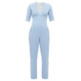 エミリア ウィックステッド Emilia Wickstead レディース オールインワン ワンピース・ドレス Bella pleated bodice wool-crepe jumpsuit