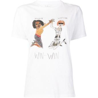 Unfortunate Portrait Win Win Tシャツ - ホワイト