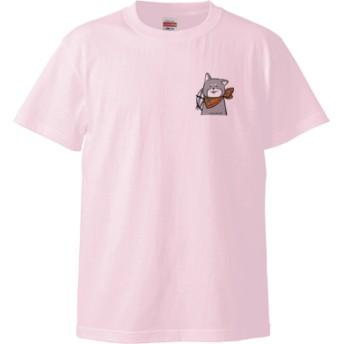 くろまろTシャツ(カラー : ライトピンク, サイズ : XL)