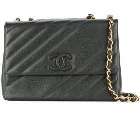 Chanel Pre-Owned ジャンボ ショルダーバッグ XL - ブラック