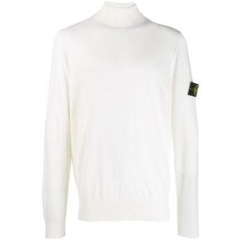 Stone Island タートルネック スウェットシャツ - ホワイト