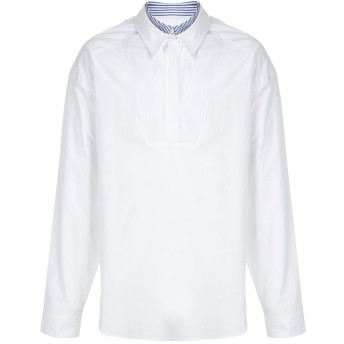 Juun.J オーバーサイズ プラケット シャツ - ホワイト