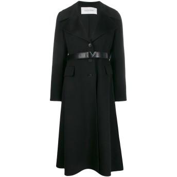 Valentino カシミア シングルコート - ブラック