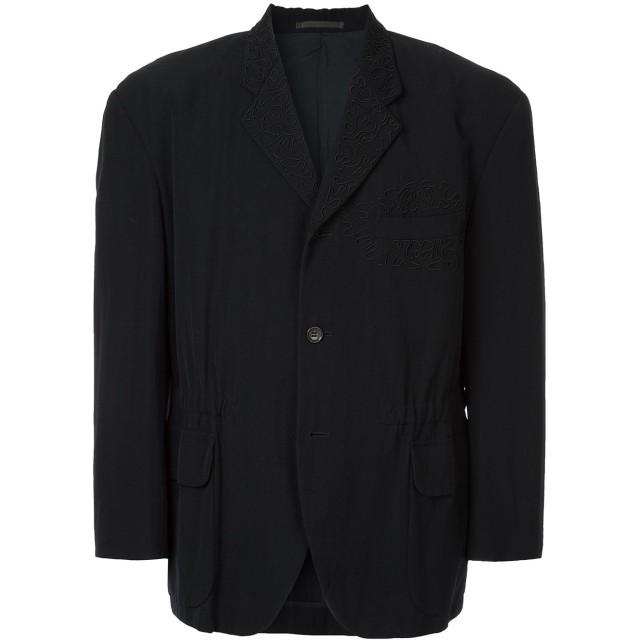 Comme Des Garçons Pre-Owned エンブロイダリージャケット - ブラック