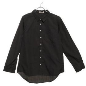 サマンサ モスモス アウトレット Samansa Mos2 outlet ベーシックシャツ (チャコールグレー)