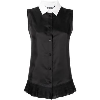 Moschino pleated hem shirt - ブラック