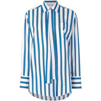 MSGM ストライプ シャツ - ブルー
