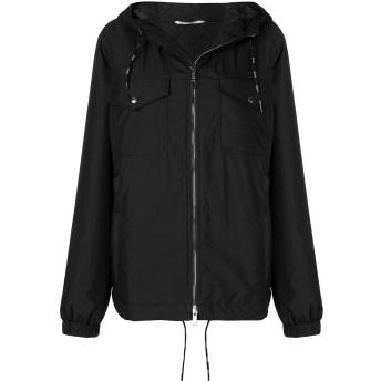 Valentino フーデッド パデッドジャケット - ブラック