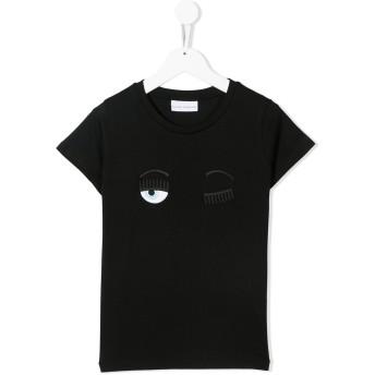 Chiara Ferragni Kids Flirting スウェットシャツ - ブラック