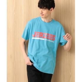 【オンワード】 Field Dream Men(フィールド ドリーム メン) 【オリジナル別注】JERZEESプリントSS Tシャツ ターコイズブルー 4 メンズ 【送料無料】