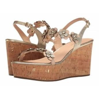 Kate Spade New York ケイト・スペード レディース 女性用 シューズ 靴 ヒール Tisdale Natural/Old Gold Vacchetta【送料無料】
