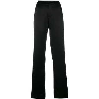 Lanvin サイドストライプ パンツ - ブラック