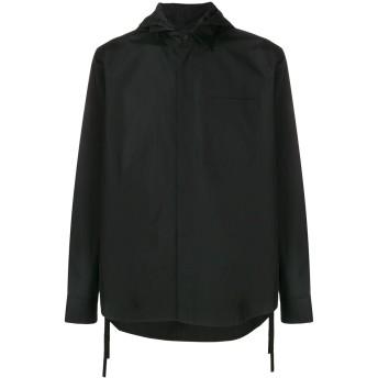 Craig Green hooded drawstring shirt - ブラック