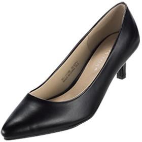 Ranan ふわっとフィット美脚プレーンパンプス ブラック 24.0cm レディース 5,000円(税抜)以上購入で送料無料 パンプス 夏 レディースファッション アパレル 通販 大きいサイズ コーデ 安い おしゃれ お洒落 20代 30代 40代 50代 女性 靴 シューズ
