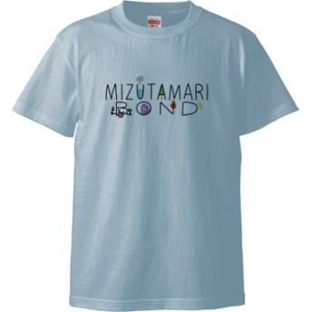 MIZUTAMARI BOND(Tシャツ)(カラー : ライトブルー, サイズ : L)