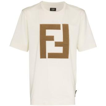 Fendi ロゴパッチ Tシャツ - ニュートラル