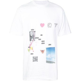 The Celect プリント Tシャツ - ホワイト