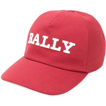 Bally baseball logo cap - レッド