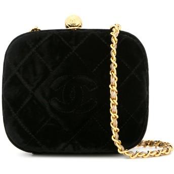 Chanel Pre-Owned キルティング ショルダーバッグ - ブラック
